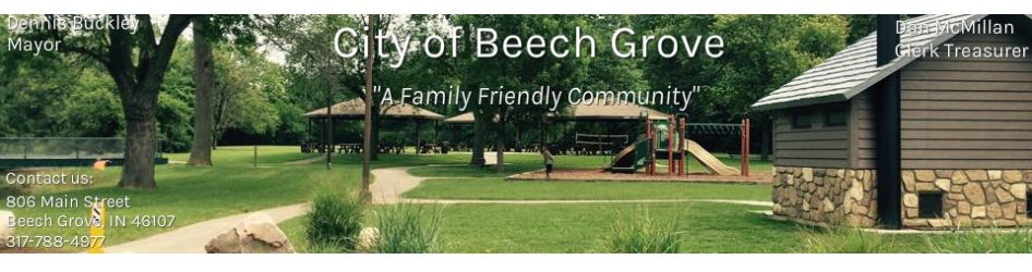 Beech Grove Police Department - CITY OF BEECH GROVE, IN